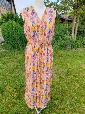 Midikleid Sommerkleid Object Gr. S (36-38) Flieder Blumenprint € 55 Blusenkleid