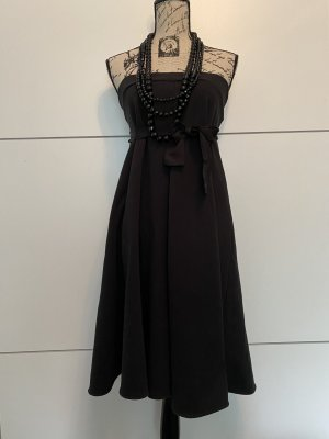 Kemuni Bandeau Dress black cotton