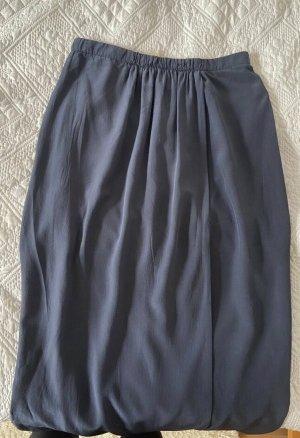 Burberry Spódnica midi ciemnoniebieski-czarny