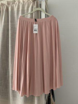 Hallhuber Jupe plissée rosé