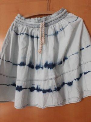 Midirock Jeans batik
