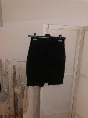 Midirock Jeans High waist