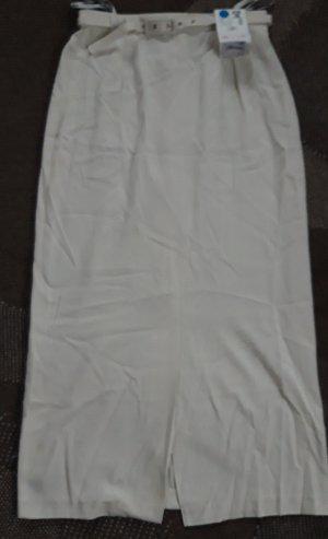 C&A Spódnica midi jasnobeżowy