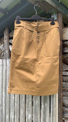 Minimum Falda midi marrón