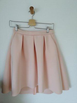 Reserved Spódnica midi jasny różowy