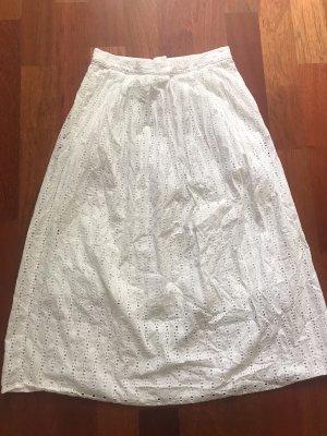 Monki Spódnica midi biały