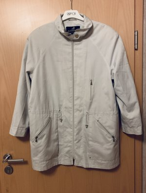 Midseason ecru Trenchcoat /Kurzmantel, Jacke v Authentic Clothing Company Gr. 38/M