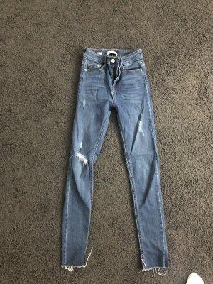 Midwaist Jeans destroyed