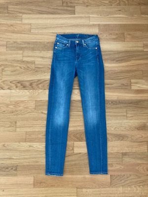 Midwaist Skinny 7 for all mankind SEVEN jeans Gr 24