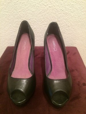 Migato High Heels/ Plateau Pumps/ Peeptoes in schwarz, Gr. 39