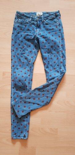 MIH Girlfriend Jeans mit Punkten W24