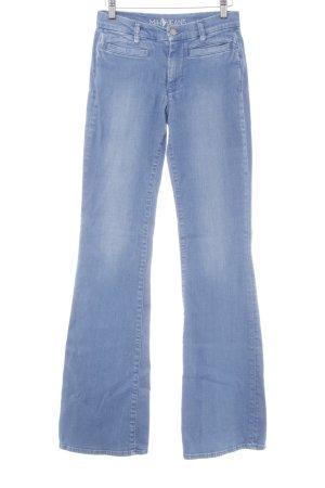 Mih jeans Boot Cut Jeans himmelblau 70ies-Stil