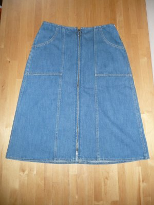MIH Jeans High Waist Basic Jeans Rock Denim Skirt blau Gr M Gr 36-38