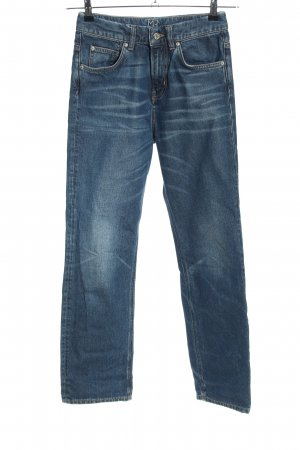 Mih jeans High Waist Jeans blau Casual-Look