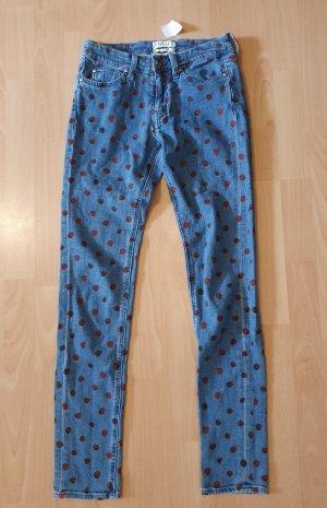 mih Jeans mit Punkten polka dots