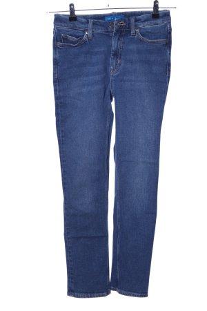 Mih jeans Röhrenjeans blau Casual-Look