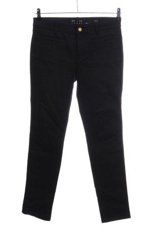 Mih jeans Skinny Jeans schwarz Casual-Look