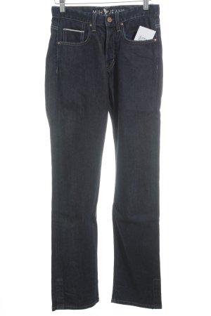 Mih jeans Straight-Leg Jeans blau Casual-Look