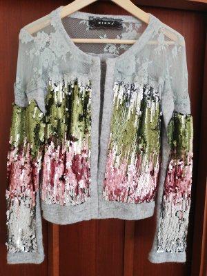 Miho's Boléro multicolore laine angora