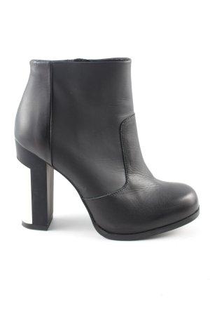 Miista Ankle Boots schwarz-weiß Casual-Look