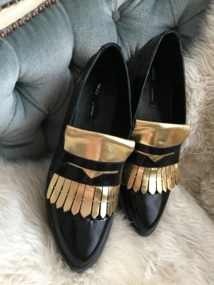 Miista Loafer Gold Quaste