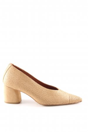 Miista Spitz-Pumps creme Casual-Look