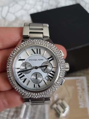 Mikael Kors Armbanduhr silber
