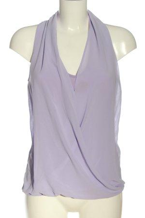 Milano Sleeveless Blouse lilac elegant