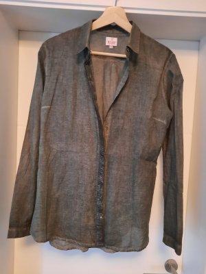 Milano Long Sleeve Blouse khaki