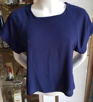 Milano Short Sleeved Blouse blue