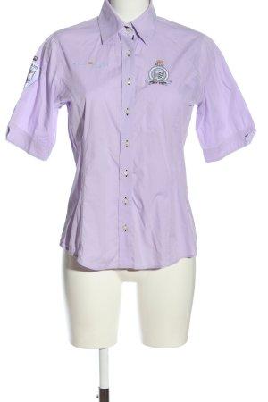 milano donna Short Sleeve Shirt lilac casual look