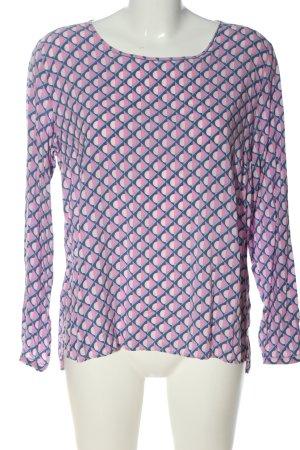 Milano Hemd-Bluse abstraktes Muster Casual-Look
