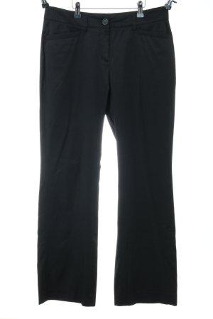 Milano Italy Pantalón de vestir negro estilo «business»