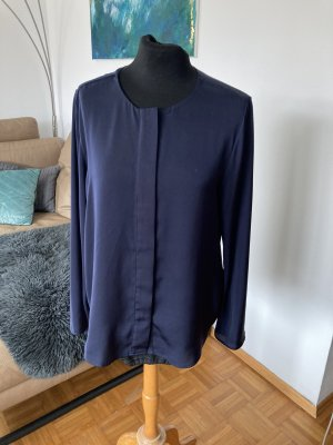 Milano Italy Połyskująca bluzka ciemnoniebieski