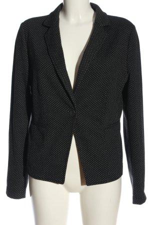 Milano Italy Boyfriend Blazer black-white spot pattern business style