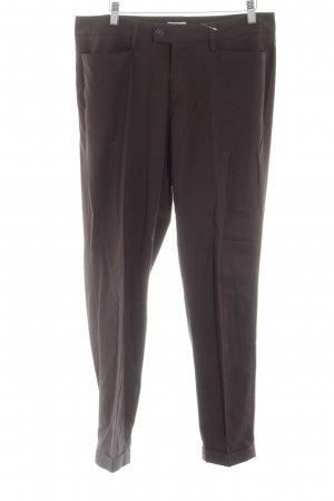 Milano Italy Bundfaltenhose schwarz Business-Look