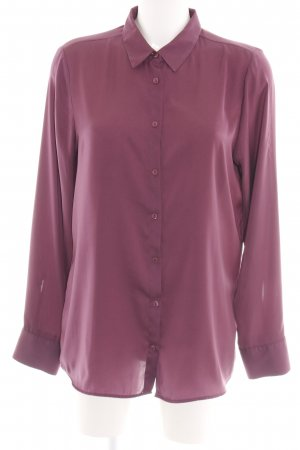 Milano Italy Glanzbluse pink Business-Look