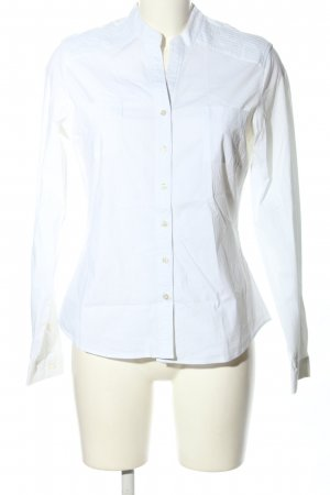 Milano Italy Hemd-Bluse weiß Business-Look