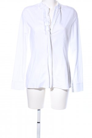 Milano Italy Hemd-Bluse weiß Casual-Look
