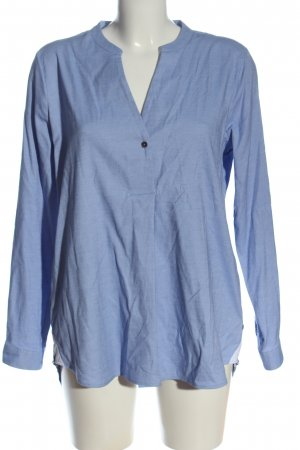 Milano Italy Hemd-Bluse blau Casual-Look
