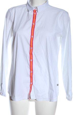 Milano Italy Hemd-Bluse Streifenmuster Casual-Look