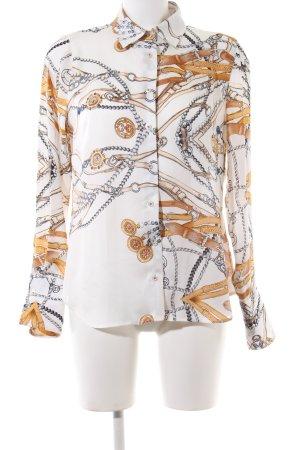 Milano Italy Langarmhemd Motivdruck Casual-Look