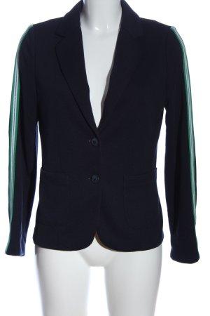 Milano Italy Blazer in maglia motivo a righe stile casual