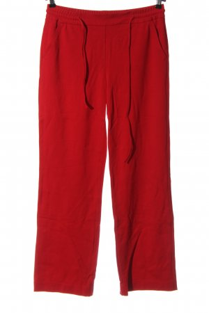 Milano Italy Pantalone fitness rosso stile casual
