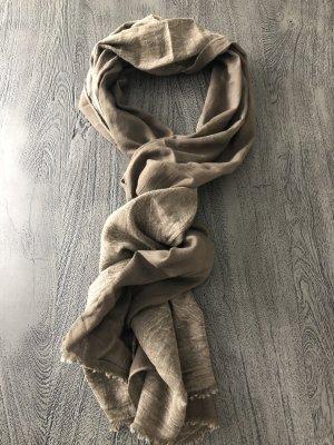 Milano Italy Neckerchief green grey-grey brown cotton