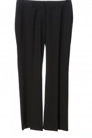 Milano Italy Woolen Trousers black business style