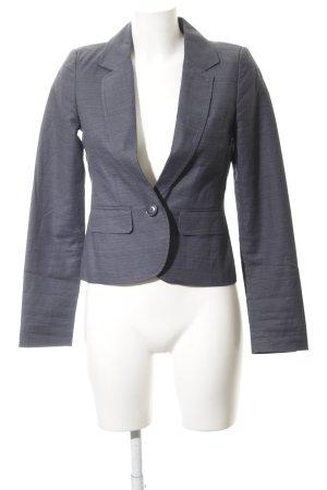 Milano Kurz-Blazer grau-dunkelgrau Business-Look