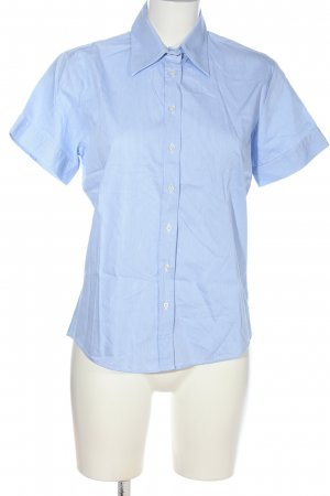 Milano Short Sleeve Shirt blue-white striped pattern casual look