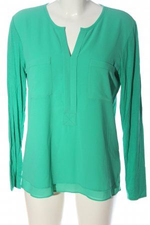 Milano Long Sleeve Blouse turquoise business style