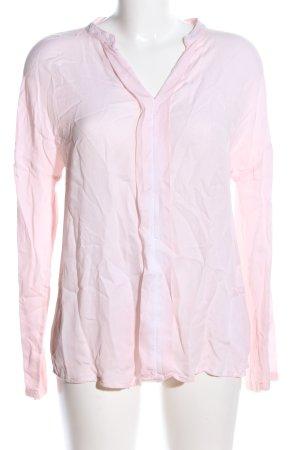 Milano Langarm-Bluse pink Business-Look